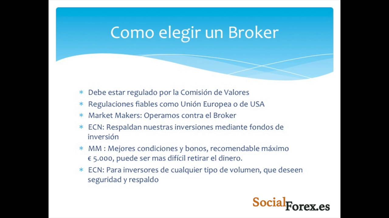 Como ser un broker forex