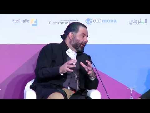 Interview with Michel Elefteriades - ArabNet Beirut 2015