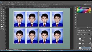 ( Tek Tıklama )Tarafından Photoshop cc ve cs6'da vesikalık Fotoğraf Oluşturmak İçin nasıl