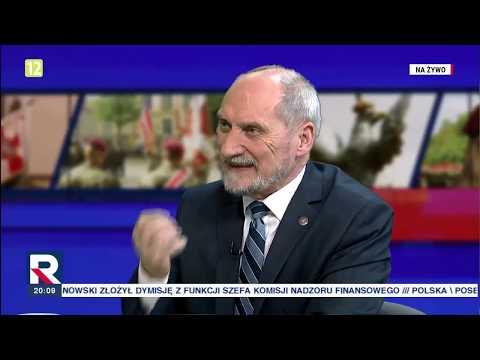 """A.Macierewicz """"antyamerykańska rola Tuska"""" 13.11.2018"""