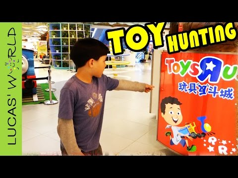 Toy Hunting at TOYS R US in CHINA! How much are STAR WARS LEGO NERF Blasters & other Toys?
