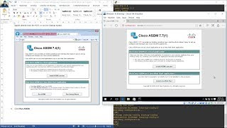 10.1.4.8 Lab A - Configure ASA Basic Settings and Firewall Using ASDM - GNS3