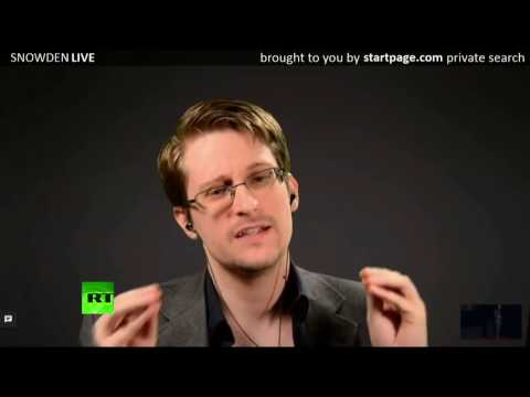 Edward Snowden on the Importance of Privacy (11/10/2016)