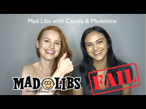 Download Youtube: Mad Libs Fail with Camila Mendes! | Madelaine Petsch