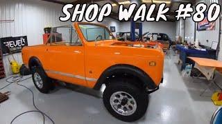 Creative Rods Shop Walk #80 - Classic Car Restoration