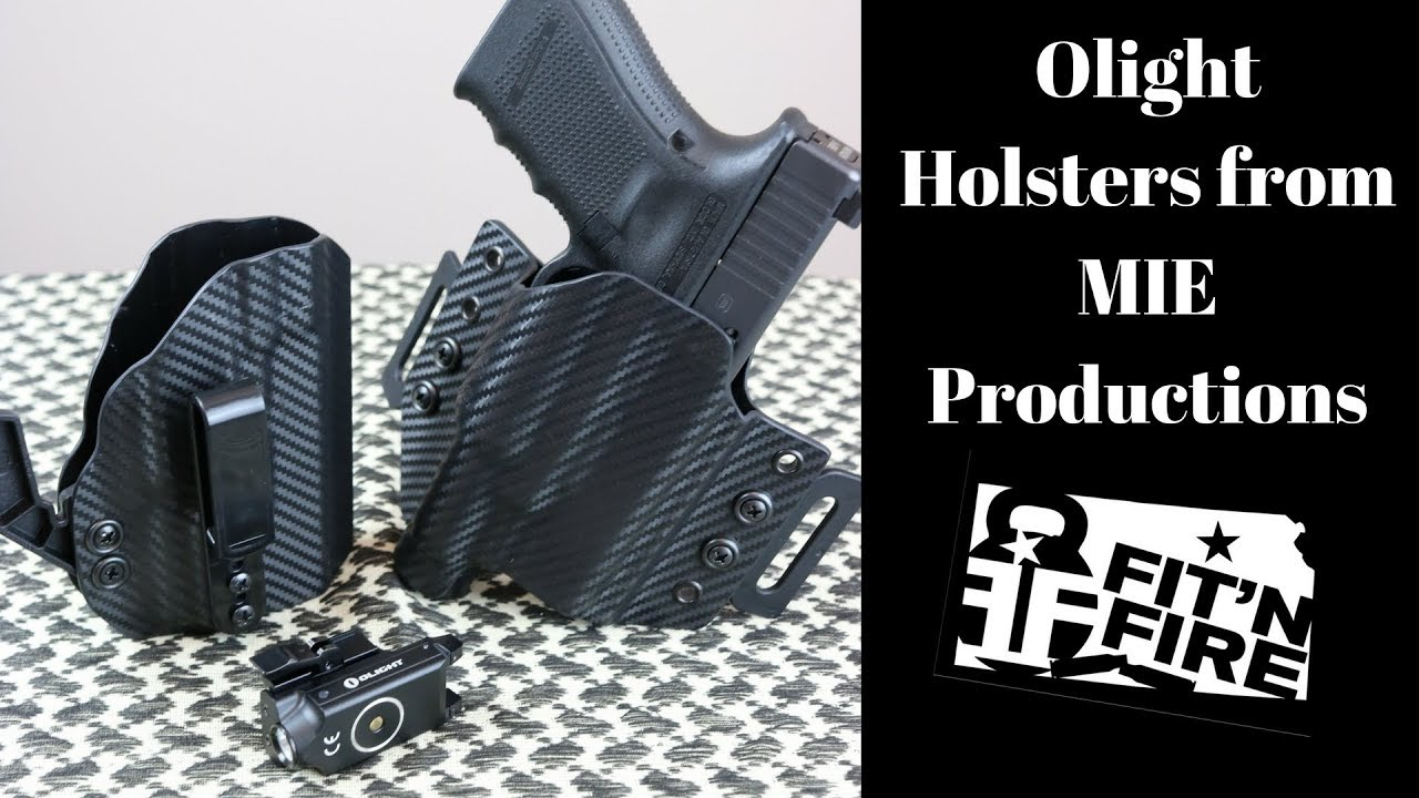 Olight Holsters from MIE Productions