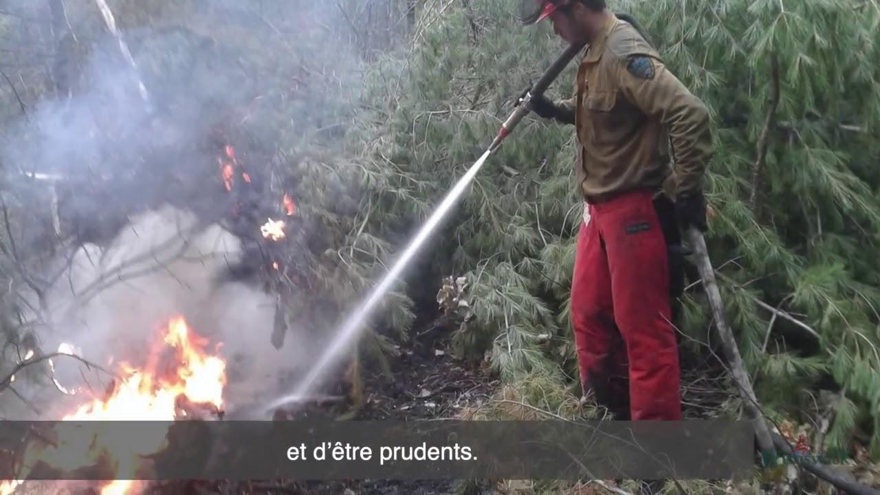 Sensibilisation aux feux de forêt