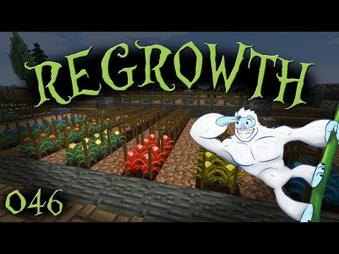 Ardite, Cobalt, Osmium, Sulfur, and Some Potion Seeds - Regrowth 1.0.2 Let's Play - Episode 046