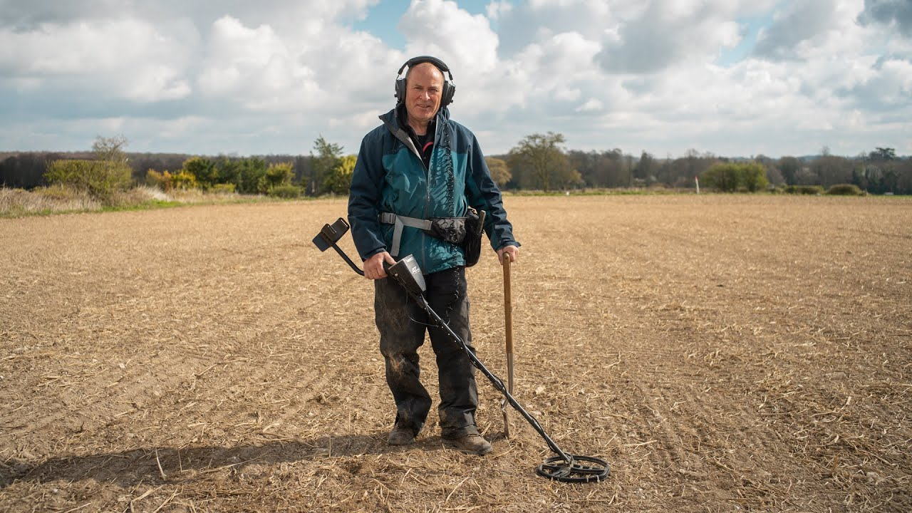 How a metal detector and Google Earth are helping one man uncover the past