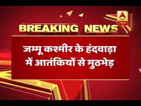 J&K: Encounter underway in Handwara between Security forces and terrorists