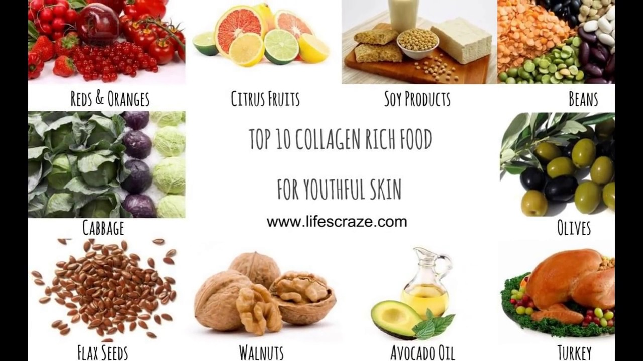Top 10 Collagen Rich Food For Youthful Skin Short Video Youtube