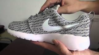 Nike Roshe One X Yeezy Boost 350 Grey