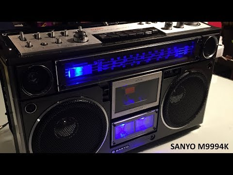 Sanyo M9994K Cassette Deck Fix And Bluetooth Mod