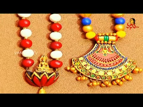 Amazing Terracotta Jewellery Collections | Success Secret of Clay Molds Designer | Navya | VanithaTV