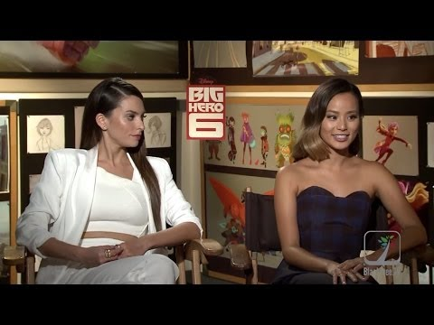 Big Hero 6 Interview W/ Jamie Chung & Genesis Rodriguez
