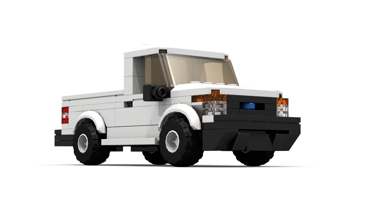 Lego ford f series pickup tutorial youtube