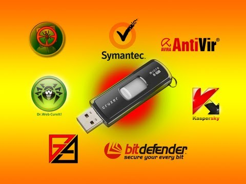 AIO Multi Antivirus Rescue USB Flash Drive by Britec