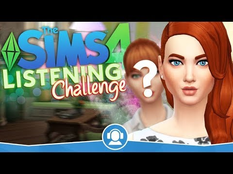 The Sims 4 PL | Listening CAS Challenge w/Oska