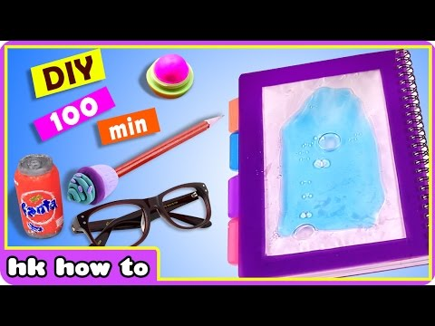 100 mins of Quick and Easy Crafts by Hooplakidz How To