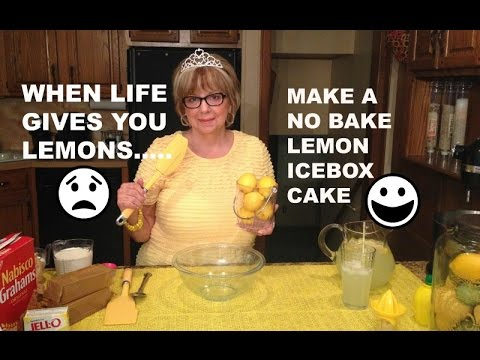 How To Make A No Bake Lemon Icebox Cake