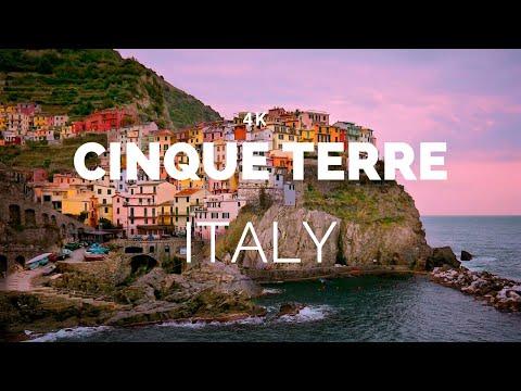 Cinque Terre, Italy (4K)