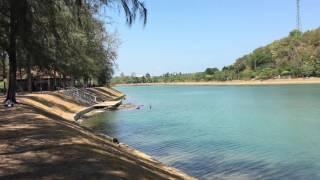 Пхукет озеро на пляже Най Харн для бега и велопрогулок, пикников и просто отдохнуть 2016