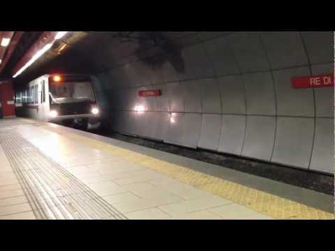 Roma metro A - Re di Roma - iphone 5 video test
