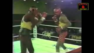 McCallum vs Hearns  sparring