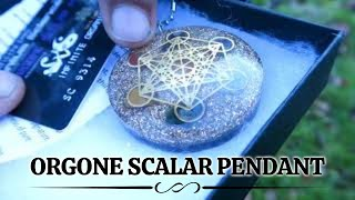 Orgone Scalar Pendant ( new ) Even More Powerful - Proof !!! - Zero Point Energy - Orgonite