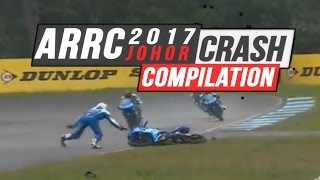 ARRC 2017 Johor Crash Compilation | No Music
