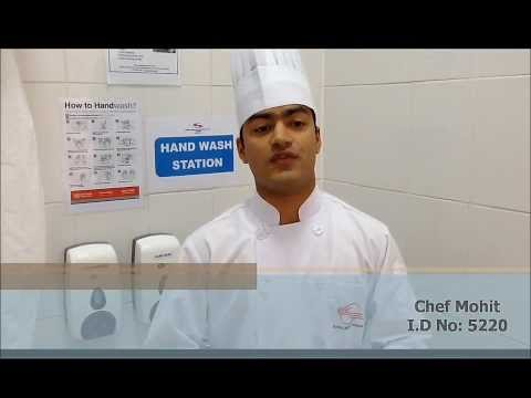 Handwashing procedure (Global Emirates Services)