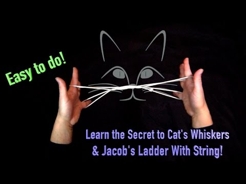 How To Do Cat's Whiskers | And Jacob's Ladder With String | Hands Nose Everything