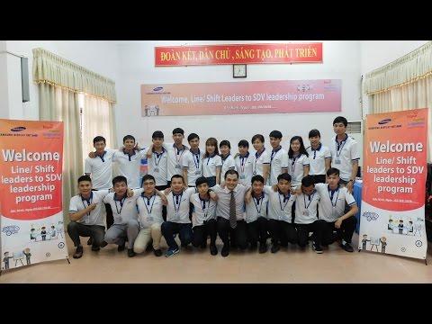 AFC Samsung Display Vietnam Communication & teamwork skill 2016