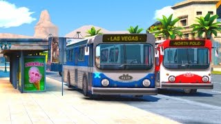 No Fake | Real Buses / Watch Dogs - Gangstar Vegas - I believe I can fly / GTA 5 / Funny moments