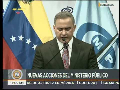 Once directivos de Banesco privados de libertad, informa el Fiscal General Tarek William Saab