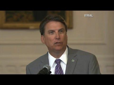 Gov. Pat McCrory defends North Carolina's bathroom law