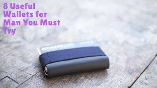8 Useful Wallets for Man You Must Try