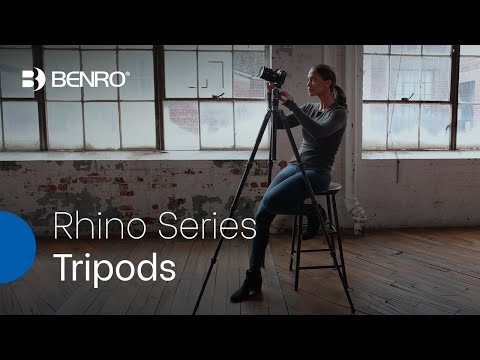 Benro Rhino Series Tripods | Strength, Portability and Easy Access!