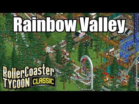 Roller Coaster Tycoon Classic - Rainbow Valley
