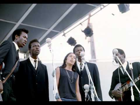 The Chambers Brothers With Joan Baez - Just A Closer Walk With Thee