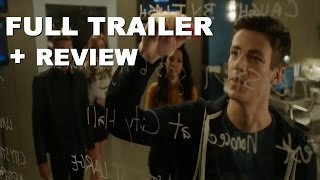 The Flash 3x10 Borrowing Problems from the Future Trailer + Trailer Review