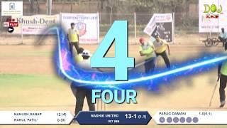NASHIK UNITED vs BARODA BLASTERS, (Final Match), DENTAL CHAMPION TROPHY 2K18 FINAL DAY, NASHIK