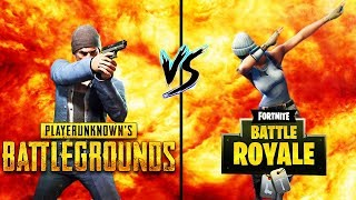 PUBG vs FORTNITE - Which of the two fits BETTER to DIR?