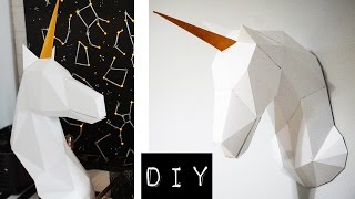 DIY: ЕДИНОРОГ своими руками // 3D Papercraft Unicorn