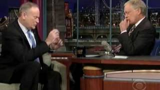 Letterman to OReilly: Youre a goon