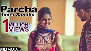 Parcha | Inder Sandhu | Latest Punjabi Song 2015