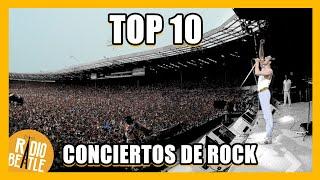 Los 10 Conciertos de ROCK Más ÉPICOS de la Historia | Radio-Beatle