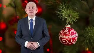 Życzenia świąteczne Grzegorza Mrowińskiego, Burmistrza Działdowa