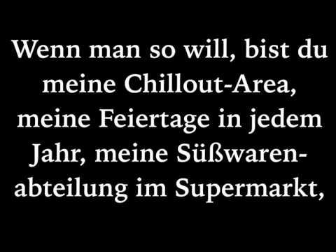 Sportfreunde Stiller-Ein Kompliment (Lyrics)