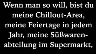 Sportfreunde StillerEin Kompliment (Lyrics)